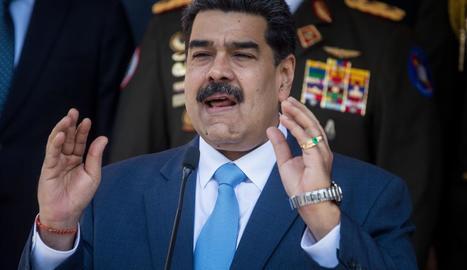 Imatge d'arxiu del president de Veneçuela, Nicolás Maduro.
