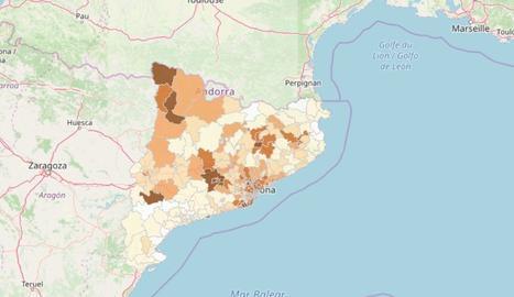 Mapa coronavirus àrees de Salut