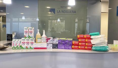 L'Institut Dental la Noguera dona material sanitari i de protecció al CAP de Balaguer