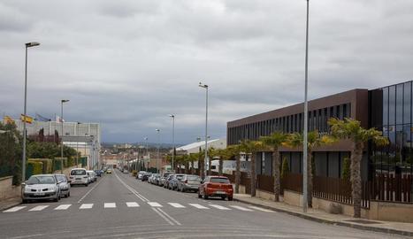 A l'entrada del polígon El Segre de Lleida hi havia controls, però el d'Agramunt estava a mig gas.