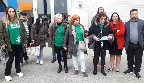 Imatge d'una protesta contra desnonaments.