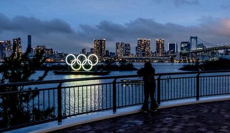 Imatge de la ciutat de Tòquio, que acollirà els Jocs Olímpics al juliol i agost de l'any que ve.