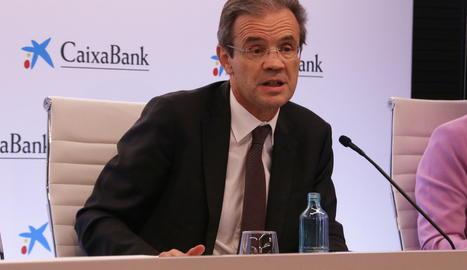 Imatge d'arxiu del presiden de Caixabank, Jordi Gual.