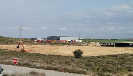 Imatge d'arxiu dels treballs de la planta a Montoliu.