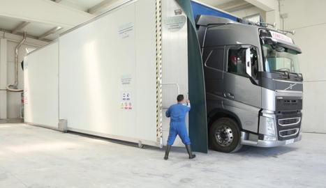 Aplicació en un camió de transport