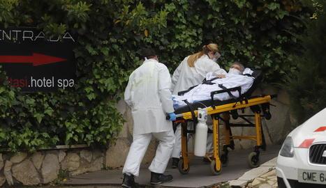 Set morts més a Lleida, però el nombre d'hospitalitzats no creix a l'haver-hi 28 altes