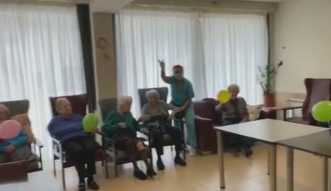 La Llar d'Avis El Carme de Tàrrega anima els residents i les famílies amb un 'lipdub'