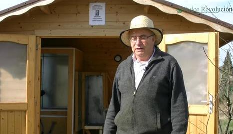 L'horticultor de Balaguer, Josep Pàmies, denuncia censura en un vídeo de YouTube.