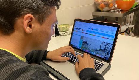 Educació considera que entre un 10 i un 15% de l'alumnat no té accés a les aules 'online'.