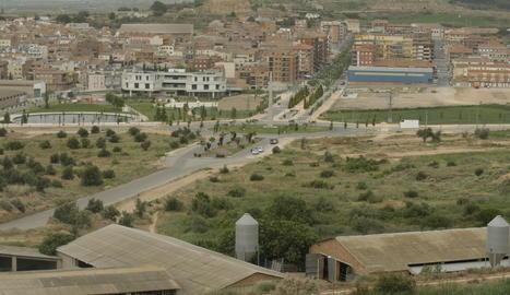 Vista d'Almacelles.