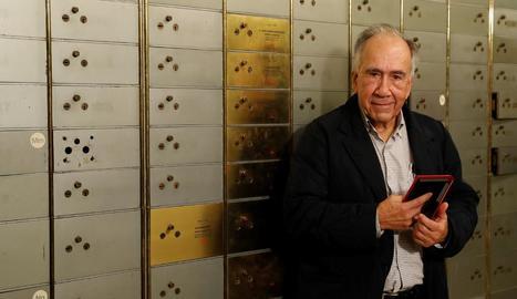 Margarit, a la Caixa de les Lletres de l'Institut Cervantes a Madrid.