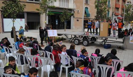 En edicions passades, la festa es va celebrar al centre.