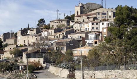 Imatge de la Guàrdia Lada, nucli de Montoliu de Segarra.