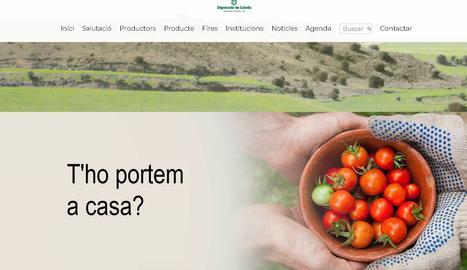 Campanya de la Diputació de Lleida per apropar els productes de proximitat a la ciutadania