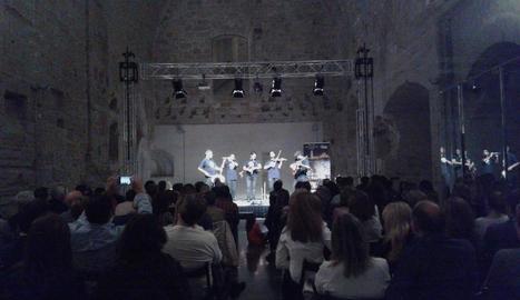 La Ruta de les Estrelles, en un concert a la Seu Vella.