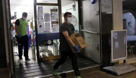 Creix un 50% el nombre de famílies que recorren al Banc dels Aliments per la crisi del coronavirus a Balaguer