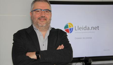 Sisco Sapena, director executiu de la firma Lleida.Net.
