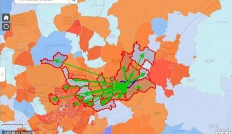 MAPA | L'INE recull la mobilitat de la població durant el confinament
