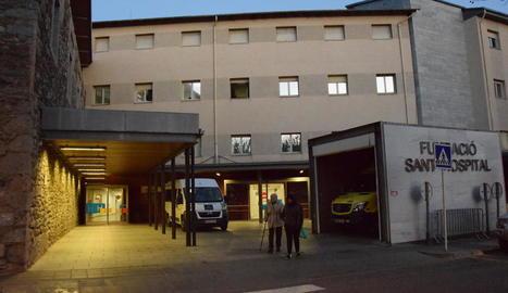 Imatge d'arxiu del Sant Hospital de la Seu d'Urgell.