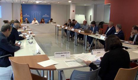 Mercolleida va presentar la proposta en aquesta reunió de la Taula de la Fruita el 13 de març a Lleida.