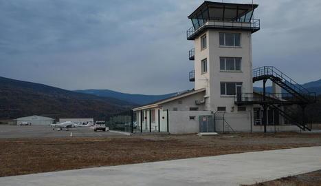 Imatge d'arxiu de l'aeroport de la Seu d'Urgell-Andorra.