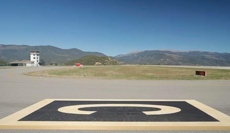 L'aeroport d'Andorra-La Seu d'Urgell.