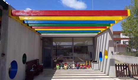 L'escola bressol acull una quinzena de nens.
