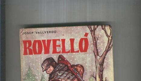 Primera edició de 'Rovelló', que els pares d'en Marc van guardar per al seu fill.