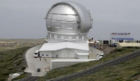 El Gran Telescopi de Canàries.