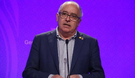 Imatge d'arxiu del conseller d'Educació, Josep Bargalló.