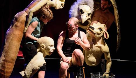 Imatge de l'espectacle 'Monsters', de la companyia holandesa DudaPaiva Company.
