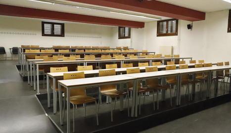 Les aules de tots els centres de Primària i Secundària i la UdL estan tancades des del 13 de març.