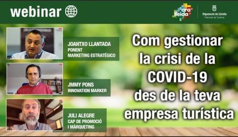 El webinar organitzat pel Patronat de Turisme de la Diputació de Lleida.