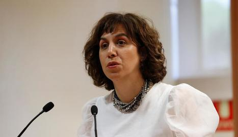Irene Lozano, directora del Consell Superior d'Esports.