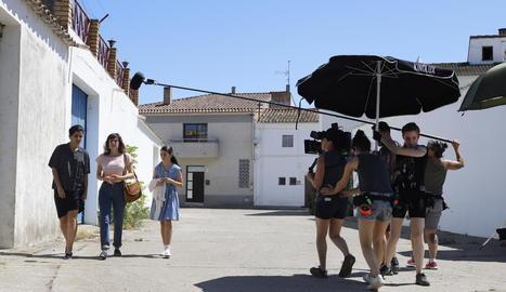 Rodatge a Gimenells de 'Las niñas', que s'estrenarà a la tardor.