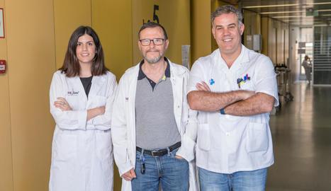 Grup d'investigació Genètica de Malalties Complexes, que lidera Joan Fibla.