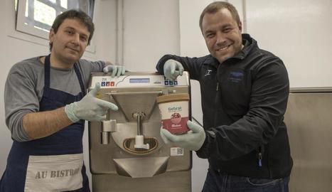 Xavier Botet i Jordi Aymarich són dos joves emprenedors que han fundat la cooperativa Sabors de Ponent, a Cervera.