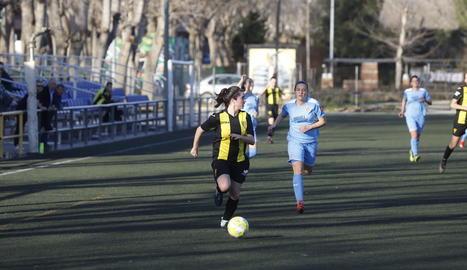 Un partit del Pardinyes femení A disputat aquesta temporada.