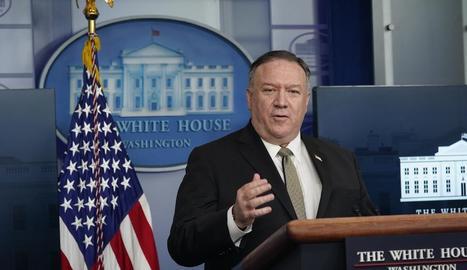 El secretari d'Estat dels EUA, Mike Pompeo.