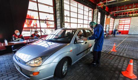Andorra fa tests massius a 1.500 treballadors transfronterers