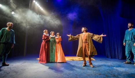 Una escena de l'obra 'La ternura', d'Alfredo Sanzol, que obre el cicle teatral a la cadena.