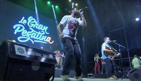 Concert La Gran Pegatina, que es va celebrar en el marc del festival Arenal Sound de Borriana del 2016.