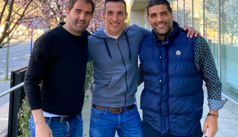 Felip Ortiz, Xavier Estrada i Xavi Ortiz.