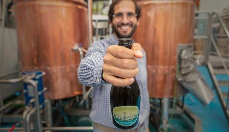 Oliba Green Beer, la primera cervesa verda d'oliva del món, creada al Pallars