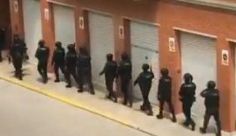 Operació policial en marxa contra el tràfic de drogues a Lleida i Almacelles