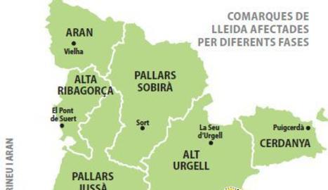 Alcaldes critiquen que només una de les tres regions sanitàries de Lleida passi a la fase 1
