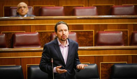 El líder d'Unidas Podemos i vicepresident segon del Govern espanyol, Pablo Iglesias.