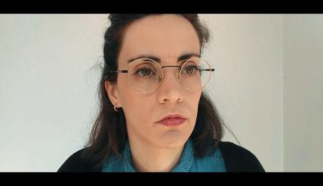 L'actriu lleidatana Violeta Porta, a 'La casa dels prèssics'.