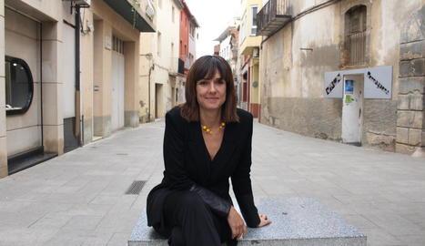 La lleidatana Mónica López, en una foto feta a Alcarràs.