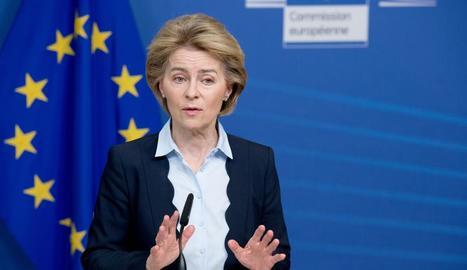 Imatge de la presidenta de la Comissió Europea, Ursula von der Leyen.